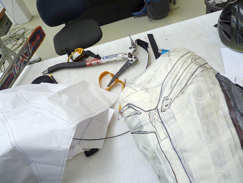 Création du design produit backpack Millet
