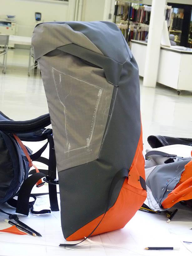 Avancée du design produit backpack Millet