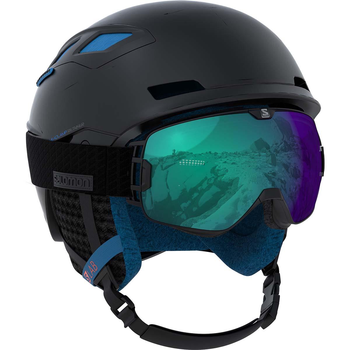 Design produit industriel casque de ski Salomon