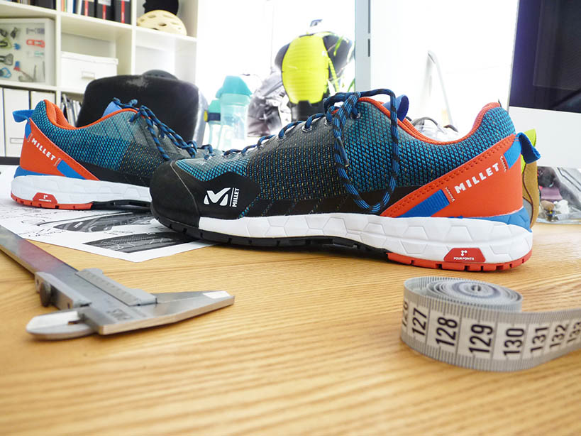 Design Industriel : chaussures de sport Millet